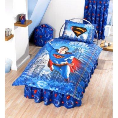Superman Single Bed Set
