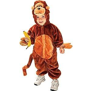 Monkey N Around Deluxe Child Halloween Costume Size 4-6 Small