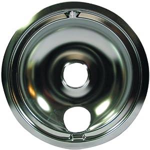 "RANGE KLEEN 120A Chrome Range Bowl/Pink Label (8"")"