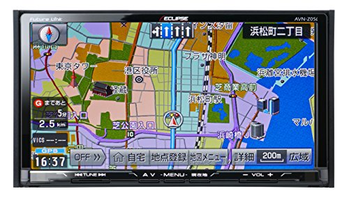 イクリプス(ECLIPSE) 7型 カーナビ AVN-Z05i 地デジ(フルセグ)TV SD CD DVD Bluetooth Wi-Fi (2DINサイズ)