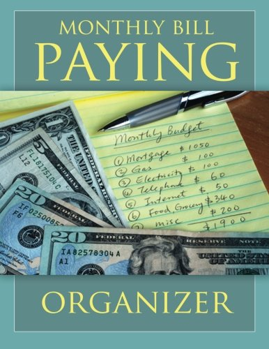 ... Bill Paying Organizing Organizer Budget Book with Pockets - Roses