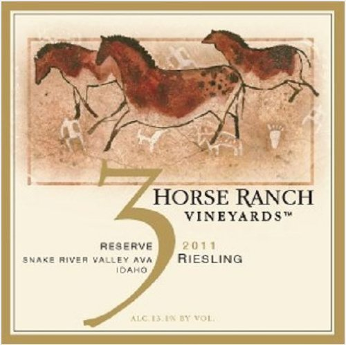 2011 3 Horse Ranch Reserve Riesling 750 Ml
