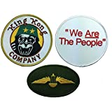 Movie Taxi Driver King Kong Company 3 Piece Patch Set