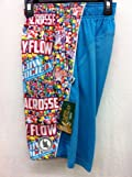 Flow Society Authentic Lacrosse Gear Mesh Shorts Jelly Bean Blue Candy Performance size Youth Small