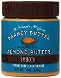 Barney Butter Smooth Almond Butter, 10-Ounce Jars (Pack of 3)