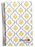 2014-15 Academic Year bloom Daily Day Planner Fashion Organizer Agenda August 2014 Through July 2015 Lattice Damask Stamp