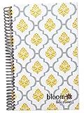 2015 Calendar Year bloom Daily Day Planner Fashion Organizer Agenda January 2015 Through December 2015 Lattice Damask Stamp