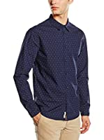 Pepe Jeans London Camisa Hombre Brus (Azul Oscuro)