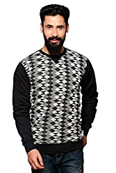 Nucode Men's Cotton Round Neck Full Sleeves Sweatshirt