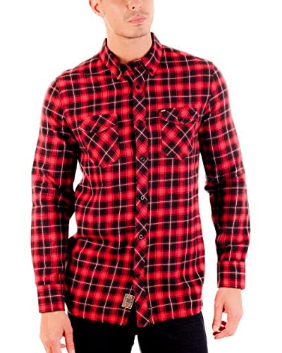 Lois Camisa Hombre Kris Kros Rojo