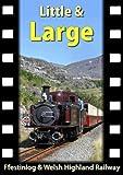 Little & Large Ffestiniog & Welsh Highland Railway Dvd (Steam Engines, Trains)