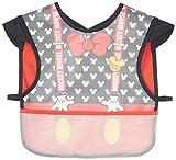 DISNEY・BABY ミッキー 乳幼児 なりきりお食事エプロン クロ ブロード×EVA A2C40 ランキングお取り寄せ