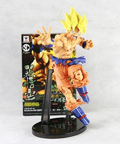 Mall Market Akira Toriyama Dragon Ball Z Super Saiyan Son Goku Gokou Battle Banpresto SCultures Big Budoukai 5 Action Figure 22CM