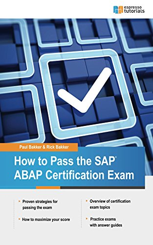 how-to-pass-the-sap-abap-certification-exam-english-edition