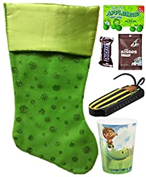 Disney Pixar the Good Dinosaur Holiday Christmas Stocking Gift Bundle