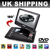 HSN 7.8 LCD Home and Car Portable DVD Player + Card Reader + USB