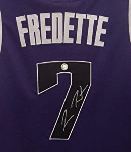 Jimmer Fredette Sacramento Kings Autographed Purple #7 Jersey by Sports-Autographs
