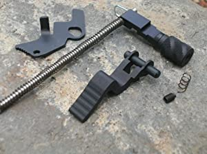 Ruger 10 22 Combo Pack Helical Tac Mod Charging Handle & Magazine Pull Release... by Rimfire Technologies