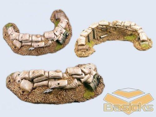 Basicks Terrain - Infantry: Trench C (1)