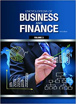 Encyclopedia Of Business And Finance: 2 Volume Set