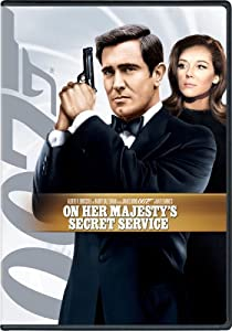 "This film, ""On Her Majesty's Secret Service"" is the only James Bond Film with George Lazenby as Agent 007."