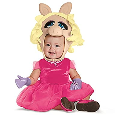 Disguise Baby Girls' Miss Piggy Infant Costume