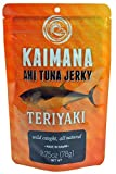 """Who can resist the teriyaki flavor? Not too sweet, not too salty, but just right! We make our own Teriyaki sauce from scratch with real ingredients. Always delicious! Kaimana Jerky - The people of Hawai'i have sustained their families and respected the Pacific oceans powerful life force for centuries. In the Hawaiian language """"kaimana"""" translates to """"the power of the sea."""" Kaimana Jerky has embraced the ancient art of drying fish to give our jerky a great taste for the modern lifestyle. Our variety of Ahi Tuna Jerky flavors are delicately prepared, dried to perfection, and seasoned with quality ingredients. Handcrafted with Aloha for 25 years!"""