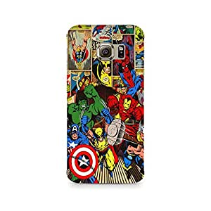 TAZindia Designer Printed Hard Back Case Cover For Samsung Galaxy S7 Edge