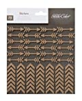 Studio Calico Atlantic Cork Arrows & Chevrons Scrapbook Stickers