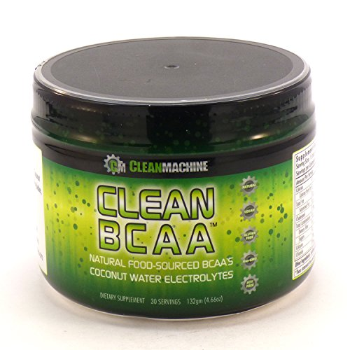 Clean Machine - Clean BCAA Unflavored, 132 g powder (Organic Bcaa compare prices)