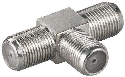 Adapter:F-Kupplung>2xF-Kupplung; WE 3014 (F-jack>2xF-jack)