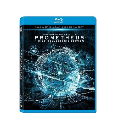 Prometheus (Blu-ray 3D/ Blu-ray/ DVD/ Digital