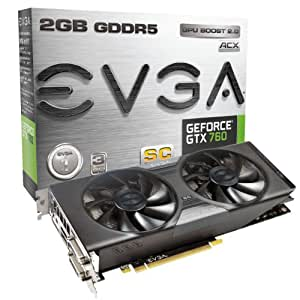 EVGA GeForce GTX 760 Super Clocked ACX 2GB GDDR5 SLI Ready Graphics Card