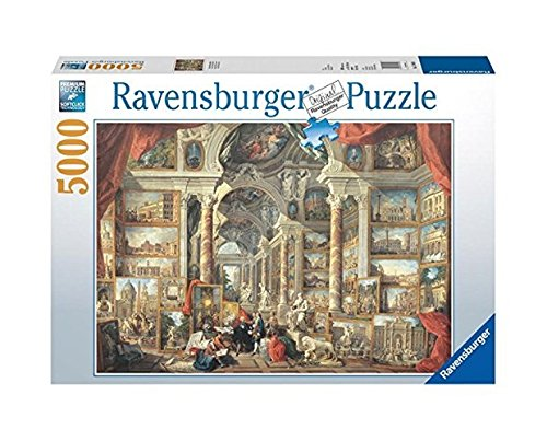 ravensburger views of modern rome 5000 piece puzzle. Black Bedroom Furniture Sets. Home Design Ideas
