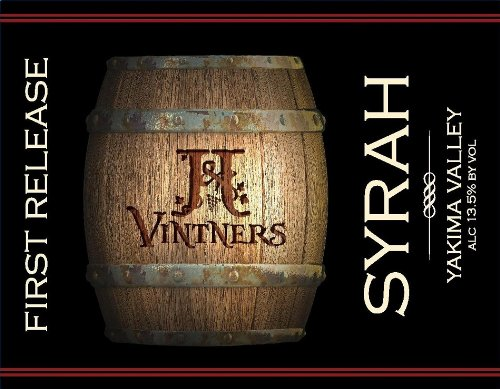 Nv J&J First Release Syrah Yakima Valley 750 Ml