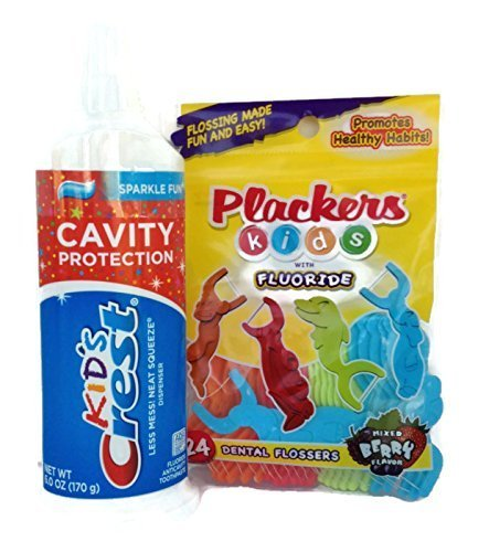 crest-kids-cavity-protection-neat-squeeze-sparkle-fun-flavor-toothpaste-6-oz-bundle-w-plackers-kids-