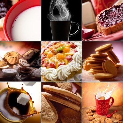 Breakfast Collage. Good Ways to Start the Day. - 24