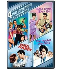 4 Film Favorites - Elvis Presley Girls: Girls