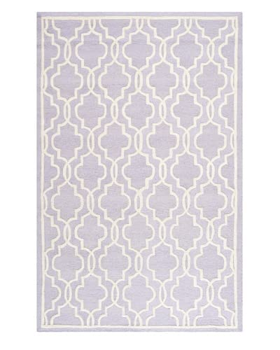 Safavieh Cambridge Rug, Lavender/Ivory, 4' x 6'