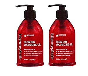 Sexy Big Sexy Blow Dry Volumizing Gel 8.5 oz (2 Pack) 16.9 oz