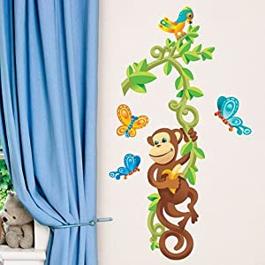 amazon com main street wall creations jumbo stickers