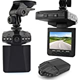 KLAREN New 2.5 Full HD 1080P Car DVR Vehicle Camera Video Recorder Dash Cam IR Day And Night Vision With 6 LEDs...