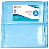 Dynarex #1340 Underpads, 17x24 in. Economy Tissue Fill, 100ct