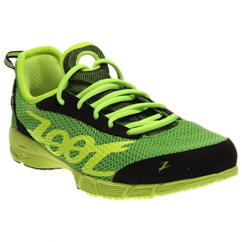 ZOOT Kiawe Running Shoe - Men's Green Flash/Safety Yellow/Black, 10.5 (Type Z Shoes Men compare prices)