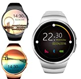 #8: Captcha Y1 Touch Screen Bluetooth SmartWatch with SIM Card & Memory Slot Phone Watch with Camera (Assorted Color & Design)