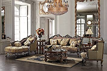 Homey Design - Hd-1682 Sofa Set (Includes Sofa & Loveseat)