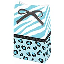 Sweet Safari Boy Ribbon-closure Favor Bags