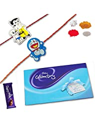 Cadbury Celebration Pack With Set Of 02 Kids Rakhis