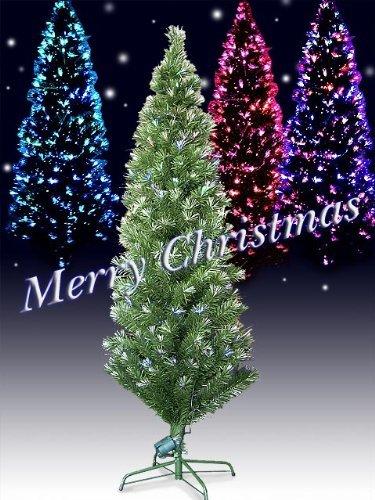 Xmas 高輝度LEDファイバークリスマスツリー 高さ150cm グリーン