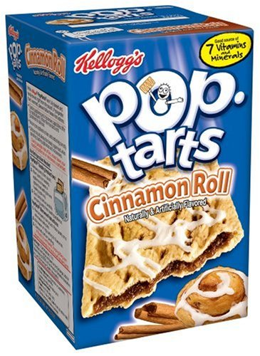 Buy Kellogg's Pop-Tarts Cinnamon Roll, 8-Count Boxes (Pack of 12) (Pop-Tarts, Health & Personal Care, Products, Food & Snacks, Breakfast Foods, Toaster Pastries)